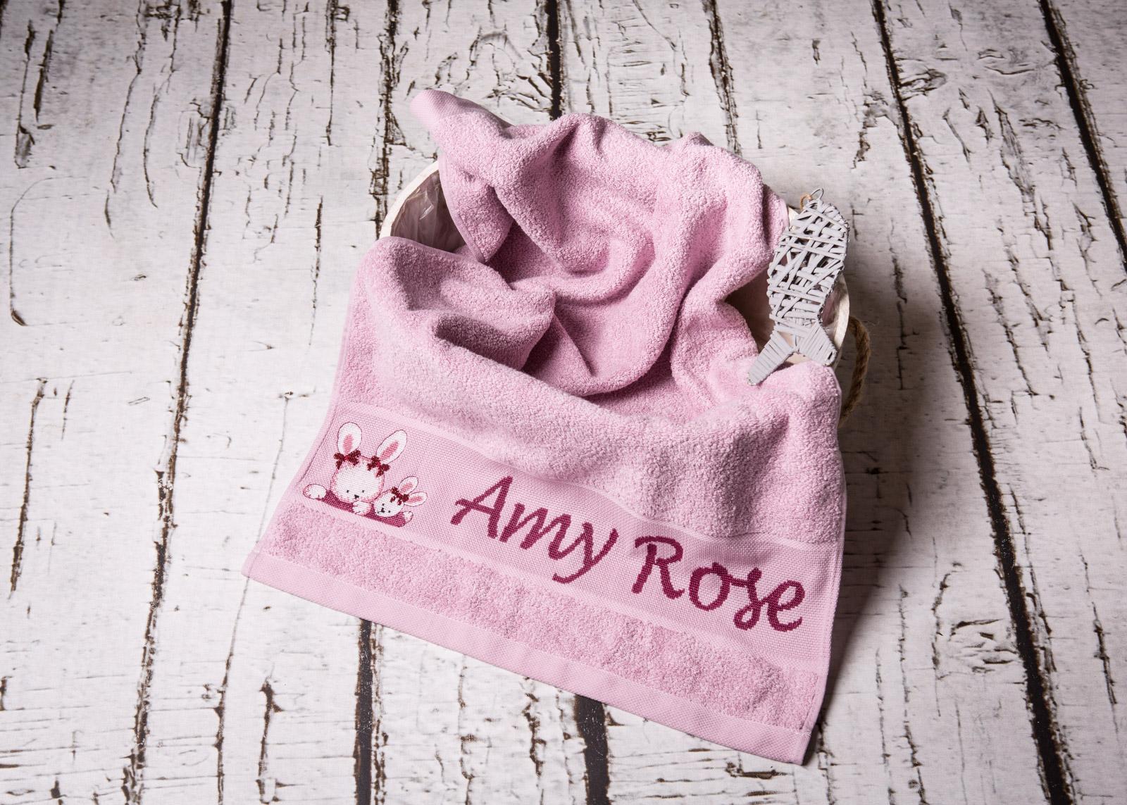 Handtuch personalisiert mit Namen