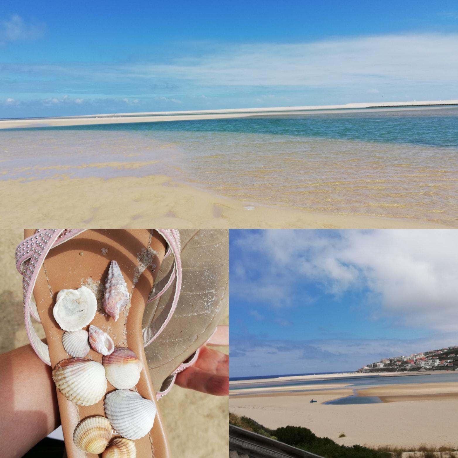 Akku aufladen am Strand