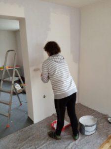 streichen, tapezieren, Möbel aufbauen? Kann ich doch.